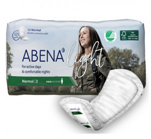 ABENA LIGHT NORMAL 2 CHANGE ANATOMIQUE REF 1000017157